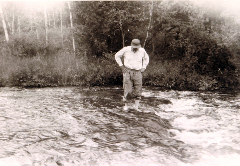 Uncle Norm playing in water.JPG