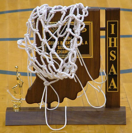 SNHS Girls Basketball - Sectional Champs 2003-2004