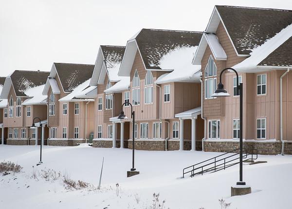 16001CC North Campus, Exteriors, Snow