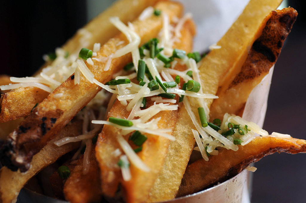 . Truffle-parmesan fries.  (Pioneer Press: Scott Takushi)