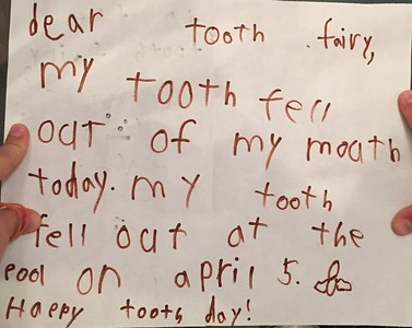 2019_04_05_Sams First Tooth