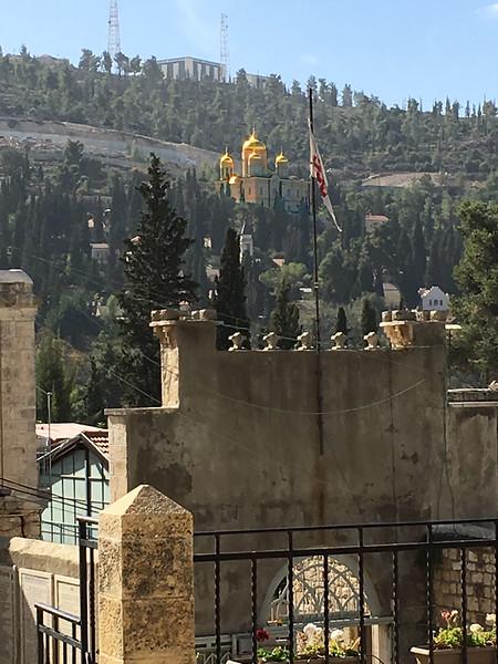 Gornenskiy Monastery, seen from St. John ba Harim