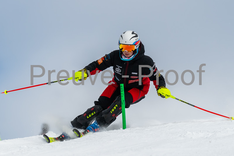 2021-02-21 Club De Ski SL Alpine