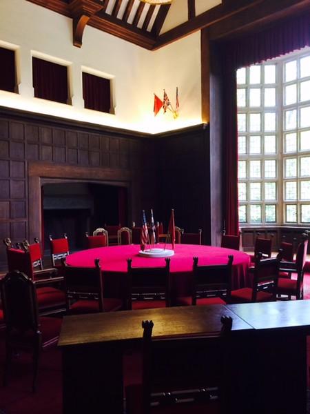 Conference Room of Big Three at Potsdam - Rand Mirante