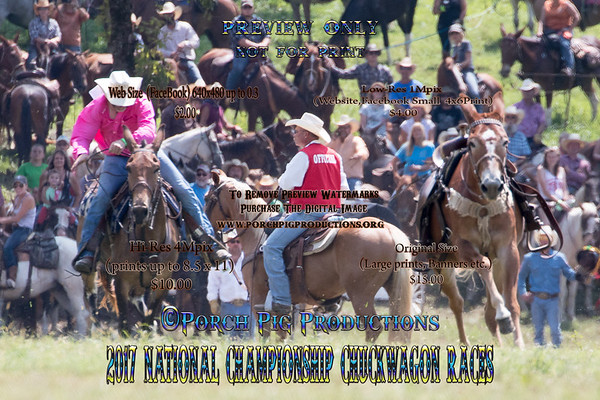 2017 Friday Snowy River Race/ Bronc Fanning/Mule Race