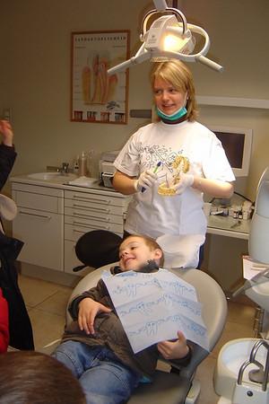 Bezoek tandarts, groep 5