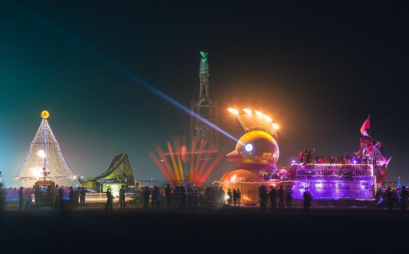 Burning Man, Nevada, 2008
