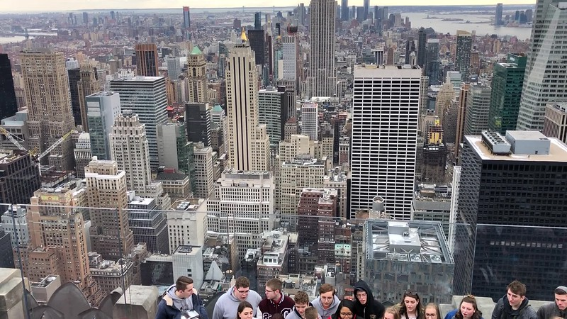 NYC Top of the Rock Alleluia.mov