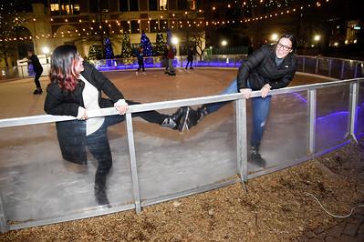 Skating Morgan Square