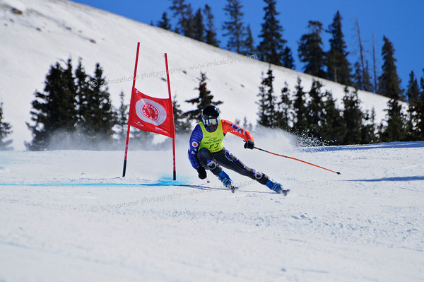 03-14-14 FIS Jr. Championships GS at Loveland - Run #2