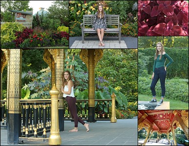 Mariah Gingrich Senior Photo Shoot @ Olbrich Gardens 08.23.2016