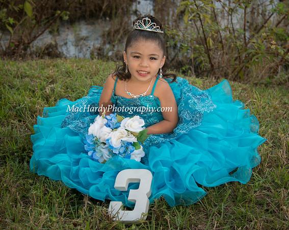 Jayleen 3rd Birthday