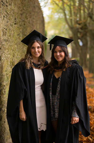 02/11/2018. Waterford Institute of Technology (WIT) Conferring Ceremonies 2018. Pictured are Sheena Kelly Waterford and Emer Rutherford Waterford. Picture: Patrick Browne