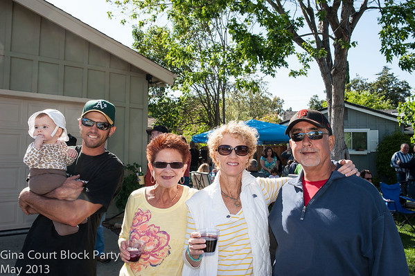Gina Court Block Party