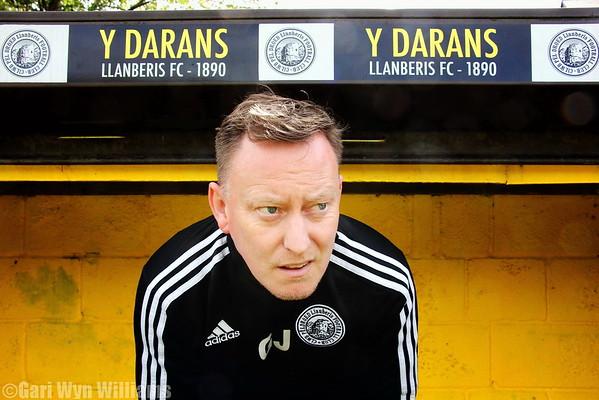 Geraint Jones -Manager -Llanberis F.C.
