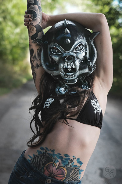 Ash - Motorhead Mask - Sept 2016