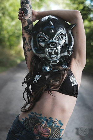 Ash - Motorhead Mask - Sept 2016