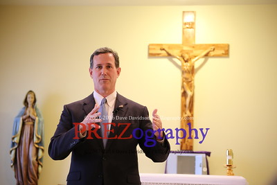 Rick Santorum Sancta Familia Benefit 3-23-15