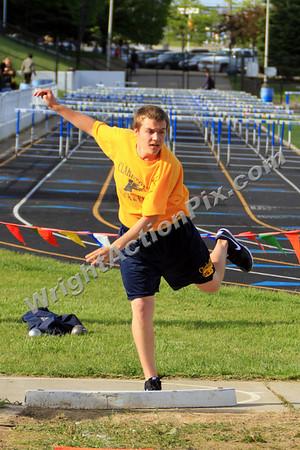 2010 05 14 Clarkston Track League Meet at Rochester HS