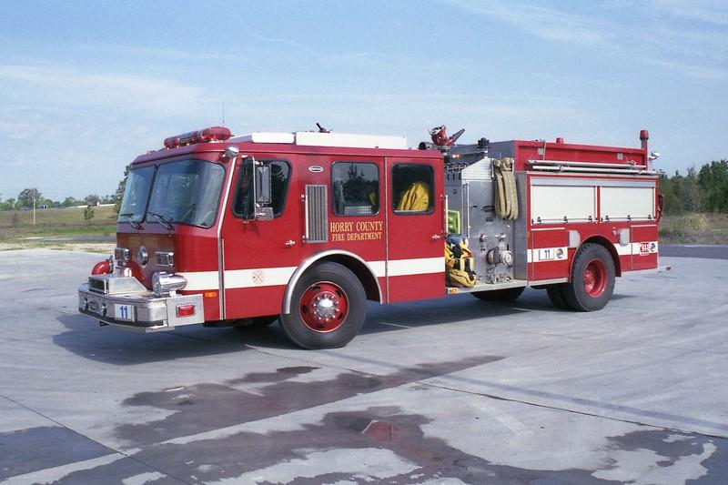 Horry County SC -  Engine 11 - 1996 E One Hurricane 1250-1000 #15535.jpg