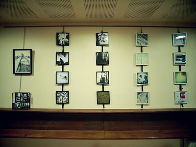 Vernissage de l'expo d'Angèle Bidon