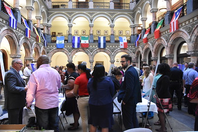 NBD hosts an Open House at City Hall. 9/27/2017