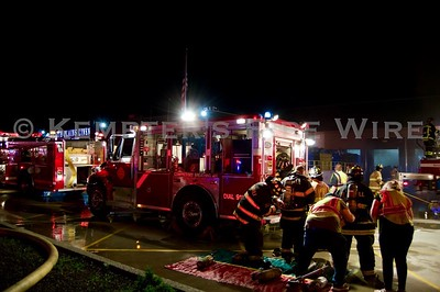 Structure Fire -  White Plains Linen, Peekskill, NY -6/19/19