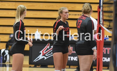 PHOTOS: Central DeWitt at Clinton volleyball