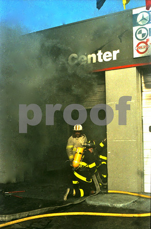 Working Fire on Rte 110