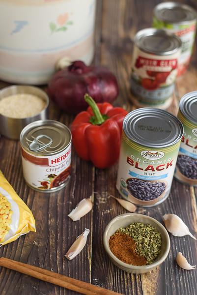 Black Bean Chili set 1