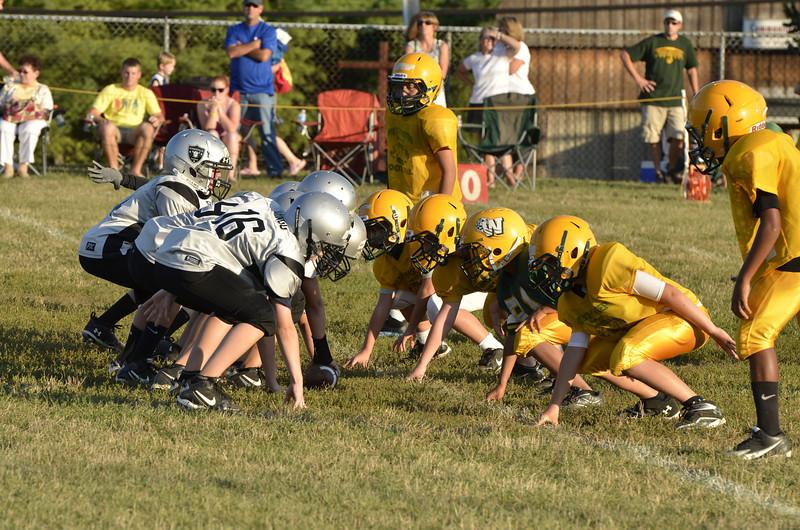 Wildcats vs Raiders Scrimmage 155.JPG