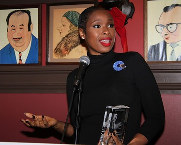 A Salute to Blacks on Broadway honoring Broadway's The Color Purple stars Cynthia Erivo, Jennifer Hudson, Danielle Brooks— with Norm Lewis and other stellar dinner guests, Sardi's, NY, December 3, 2015. Photography by Lisa Pacino.