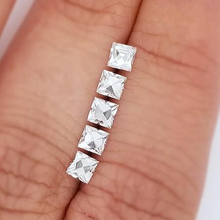 1.29ctw Antique-Style French Cut Diamond Parcel - G, VS