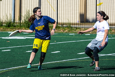 10-12-14 Michigan Flywheel's Best of the Midwest Women's Ultimate Frisbee Tournament