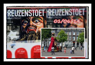 Reuzenstoet @ Maastricht  01/06/14