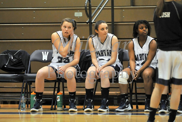 Schuylkill Valley VS Wyomissing Girls Basketball 2011 - 2012
