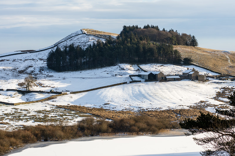 Winter at Crag Lough