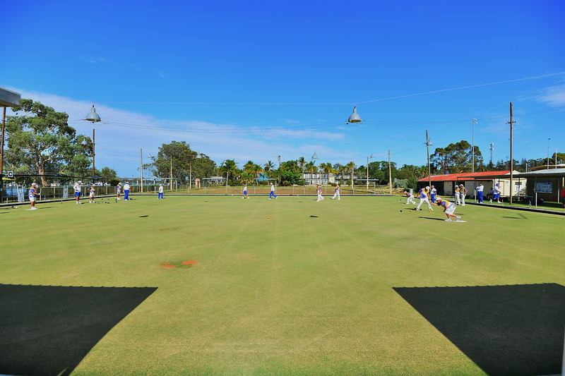 Berri Bowling Greens, soon to be left behind