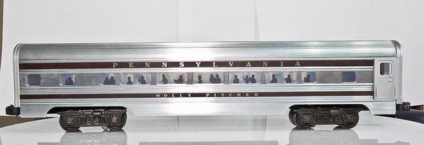 2544 PA Molly Pitcher Alum. Pullman Car - Williams