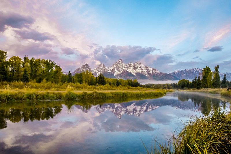 Sunrise at Schwabacher's Landing