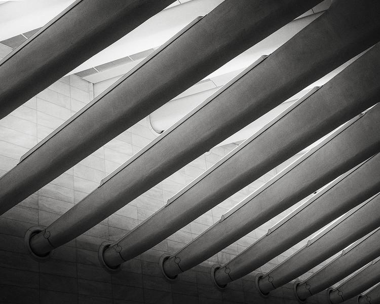 Ceiling detail, WTC hub