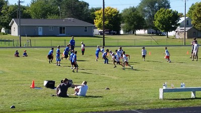 2014-09-21 Dylan Flag Football Game