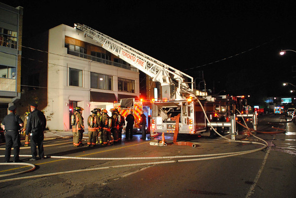 October 29, 2011 - 2nd Alarm - 257 Davenport Rd.