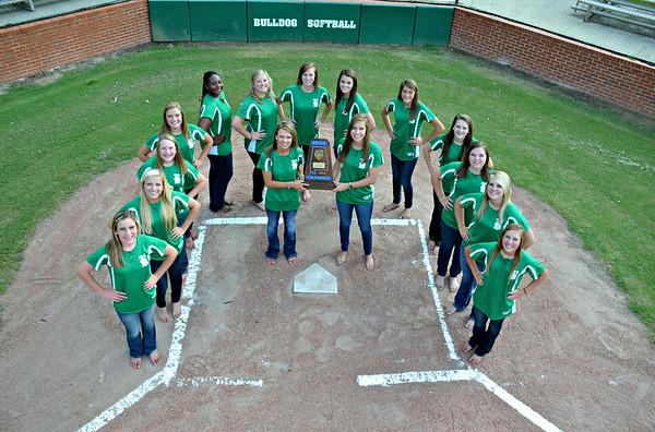 BHS girls softball