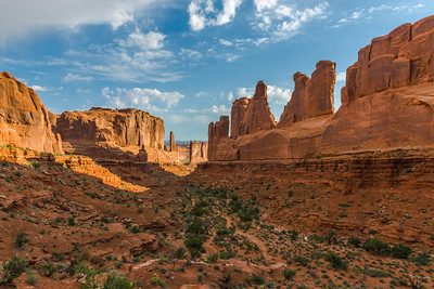 Park Avenue, Arches NP (4 June 2013)