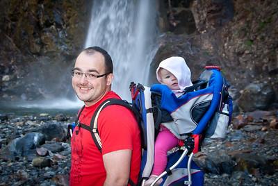 Hiking at Franklin Falls