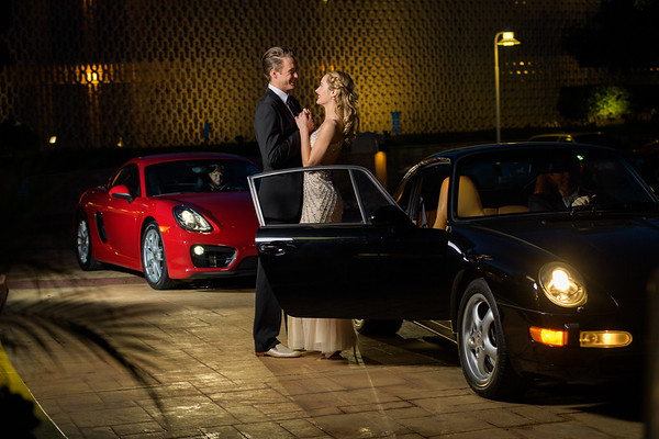 Couples, Limos and Sports Cars