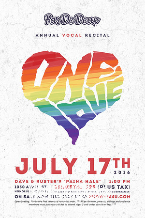 One Love (2016)