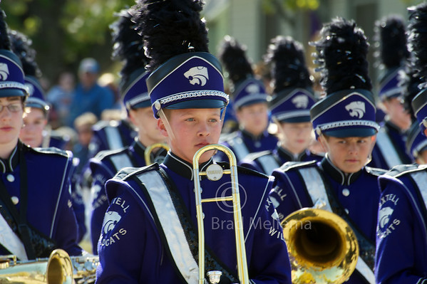 Axtell Marching Band 2010