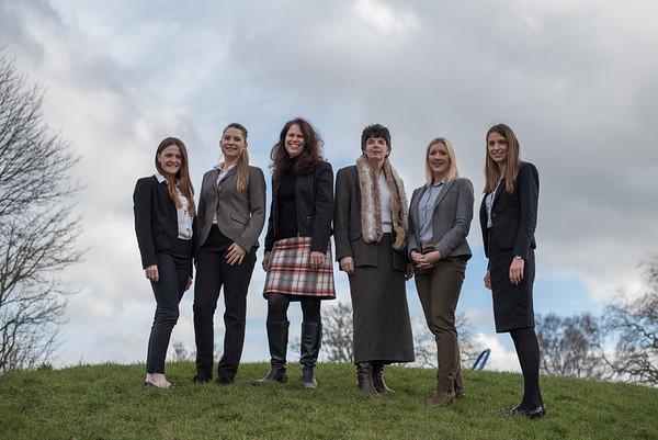 Whitehead Monckton equine team March 2018